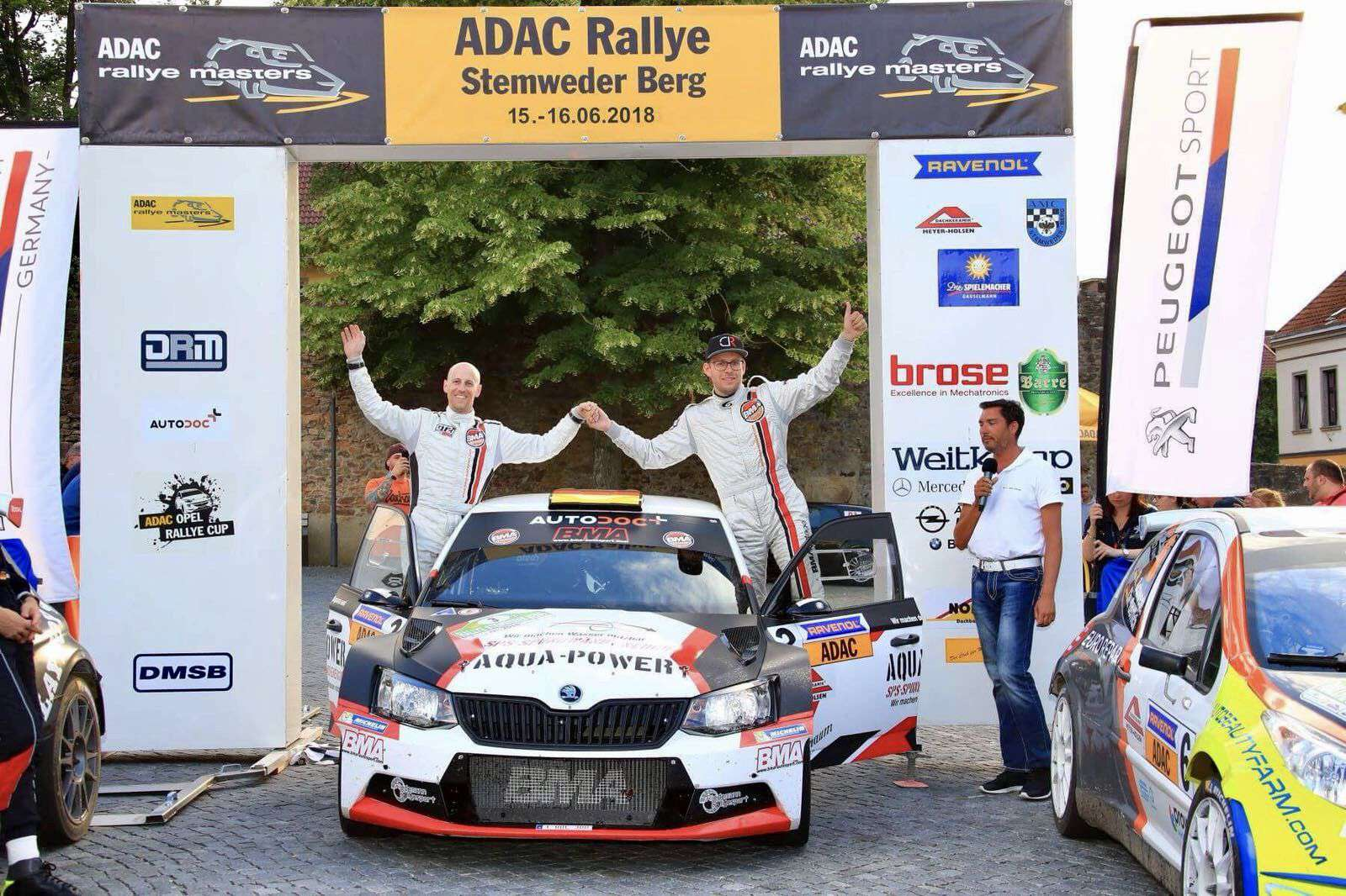 Rallye-Fahrer-Christian-Riedemann-Wiesntraum-Munich-Sieg